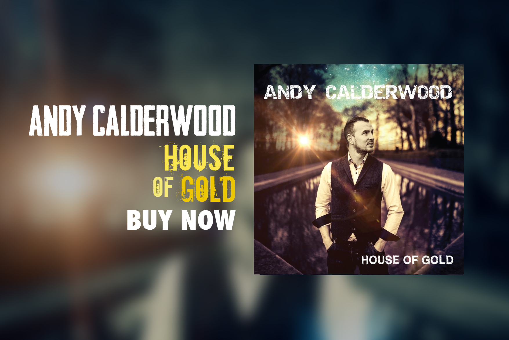 Andy Calderwood Releases New Single On TuneCore